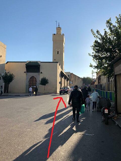 ブージュルード門前モスク