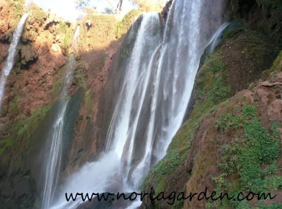 ウズウッドの滝